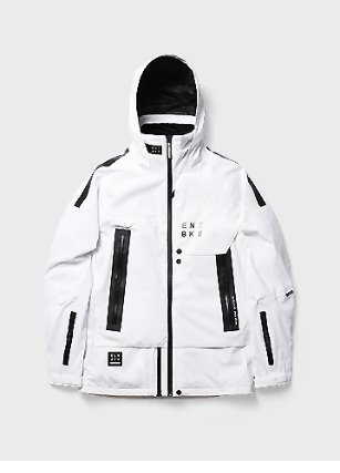 ELBK II JACKET _ WHITE